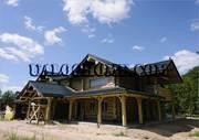 Строительство деревянных домов. Дикий канадский сруб