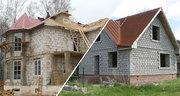 Строительство домов коттеджей,  копка котлованов,  сливных ям,  мини-пруд